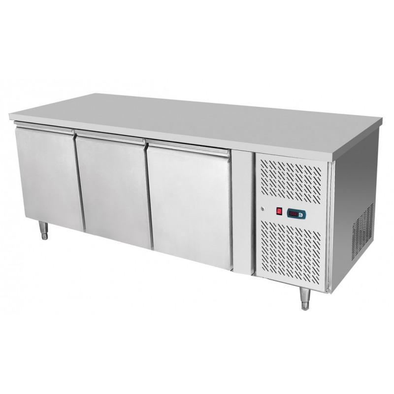 Tavolo frigo 3 porte Atosa modello EPF3432: capacità 420 l.