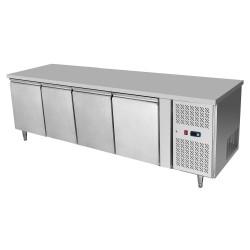 Tavolo frigorifero 4 porte Atosa modello EPF3442: dimensioni 22.3 x 70 x 85h cm, capacità 510 l.