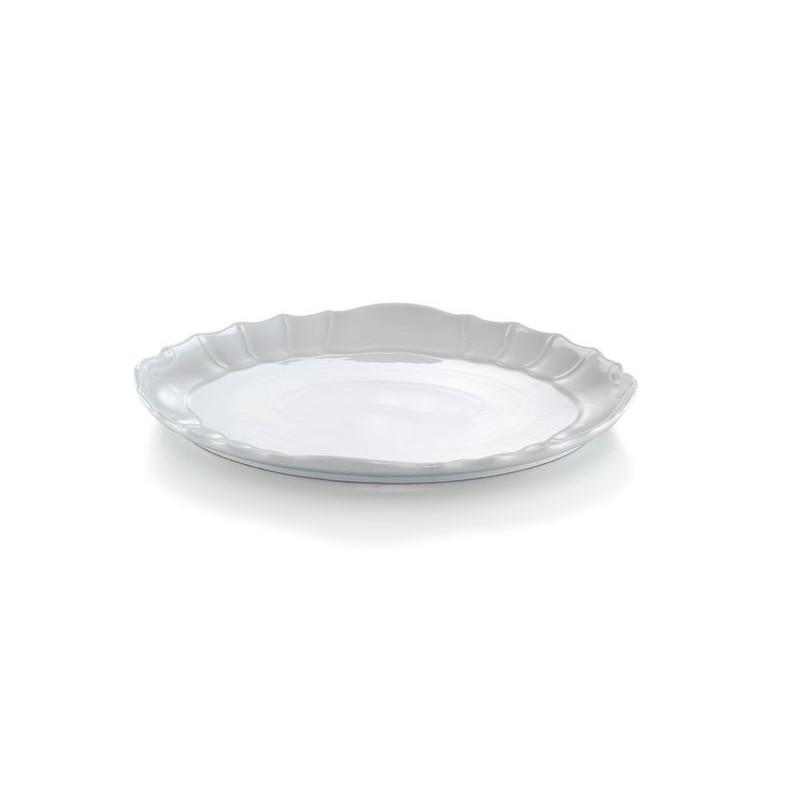 PIATTO TONDO 40 BAROCCO BI MPS 0230400- porcellana MPS Saronno Medri - Teomar Shop