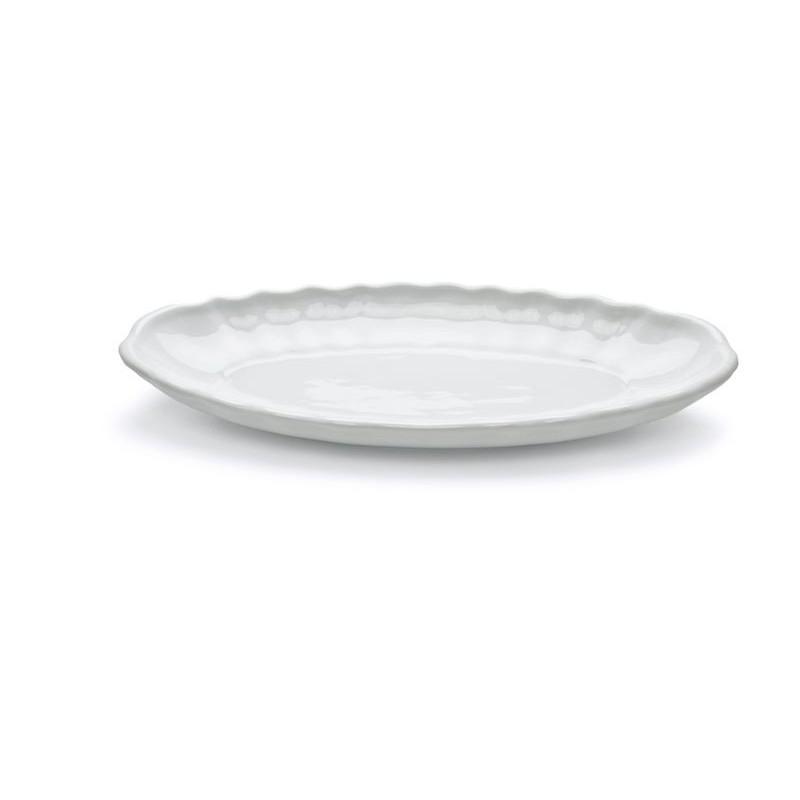 PIATTO OVALE PESCE 65 BAROCCO BI MPS 0203650- porcellana MPS Saronno Medri - Teomar Shop