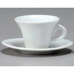TAZZA THE CON PIATTO 21CL AIDA 31737 ANCAP - porcellana Medri - Teomar Shop