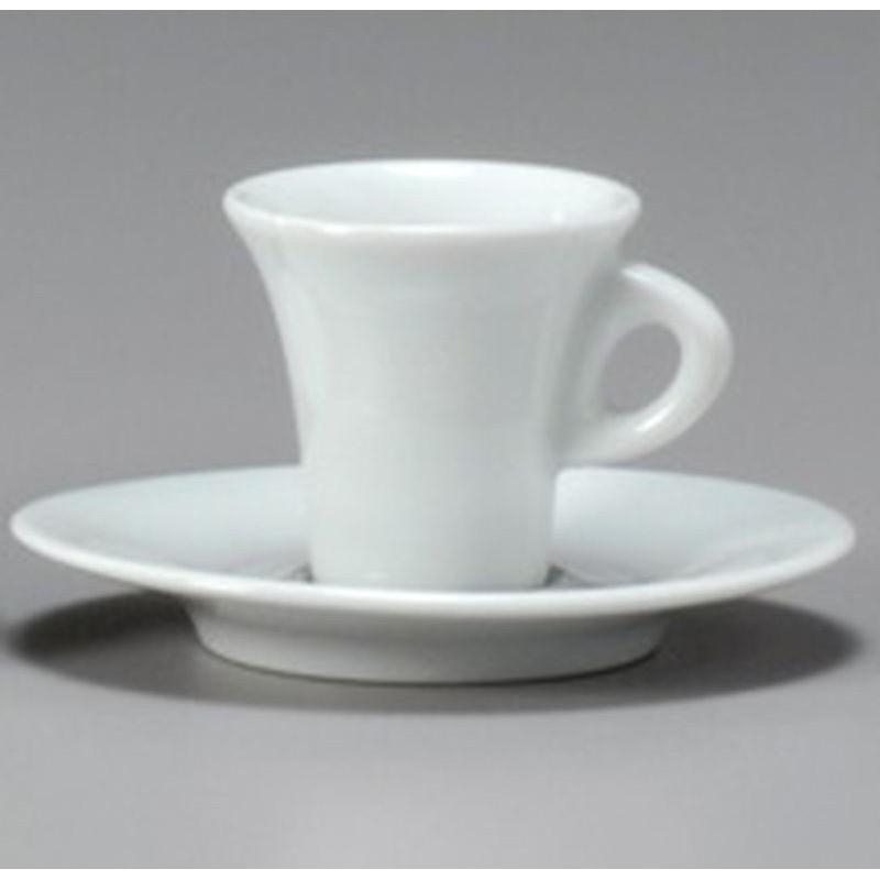 TAZZA CAFFE CON PIATTO 10CL AIDA 31736 ANCAP- porcellana Medri - Teomar Shop