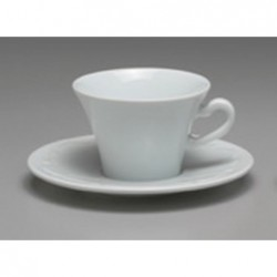 TAZZA THE BASSA CON PIATTO CC 150 VIVALDI 35971 ANCAP - porcellana Medri - Teomar Shop