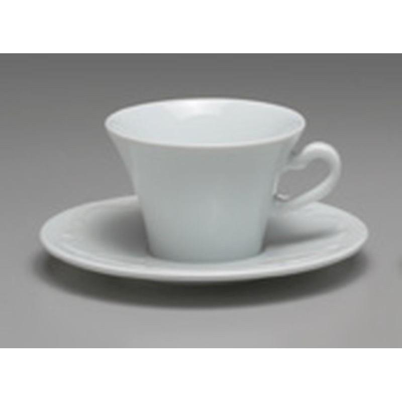 TAZZA THE BASSA CON PIATTO CC 150 VIVALDI 35971 ANCAP- porcellana Medri - Teomar Shop