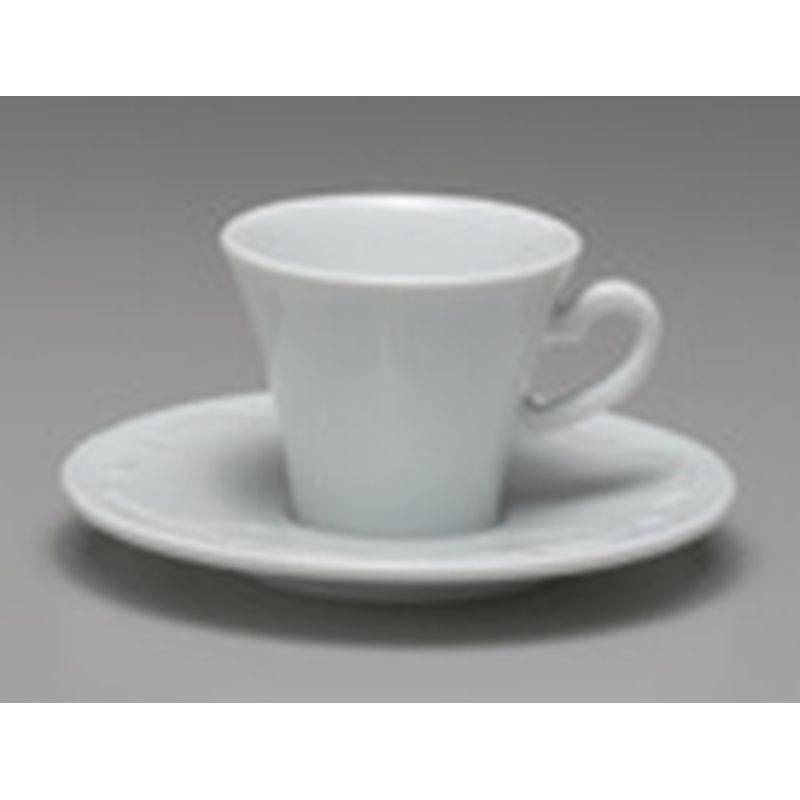 TAZZA CAFFE BASSA CON PIATTO CC 75 VIVALDI 35969 ANCAP- porcellana Medri - Teomar Shop