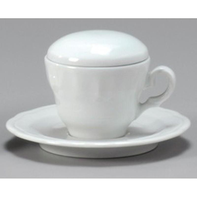 COPERCHIO PER TAZZA CAFFE EDEX/VR/TO - BIANCO 20130 ANCAP- porcellana Medri - Teomar Shop