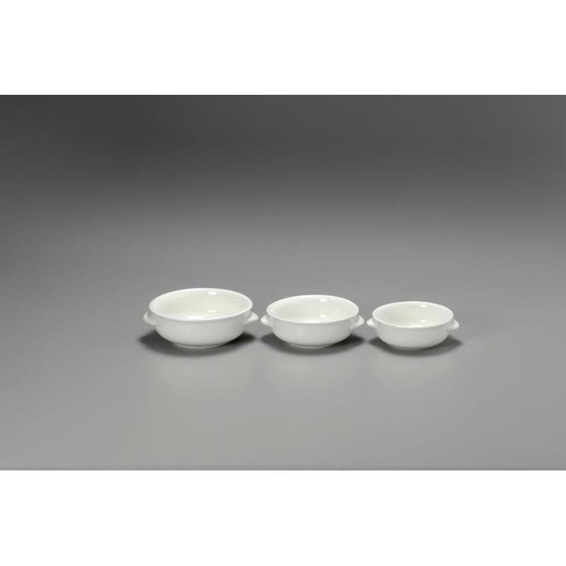TEGAME CON ALETTE 17 BIANCO 15753 CHAOZHOU - porcellana Medri - Teomar Shop