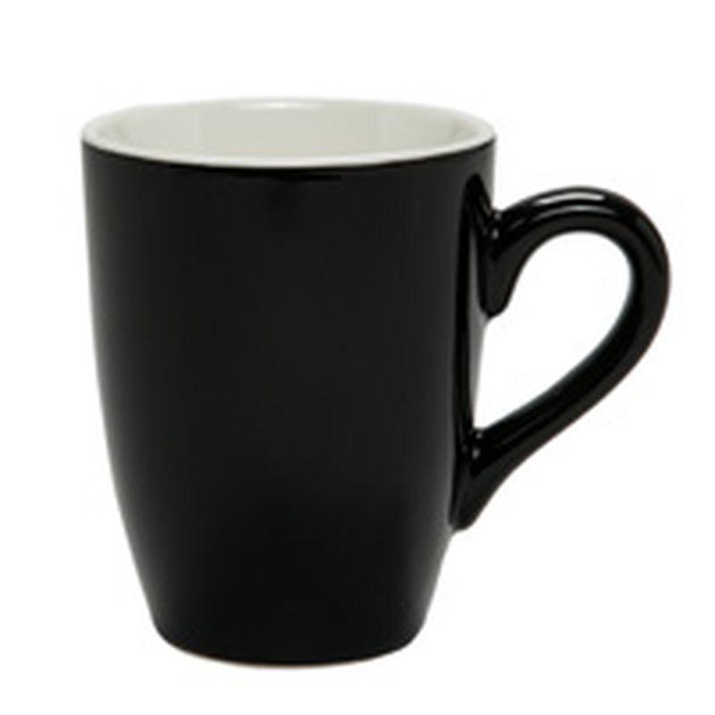 CONFEZIONE 6 TAZZE 320 NERO 2620 BLACK XINGYE - porcellana Medri - Teomar Shop
