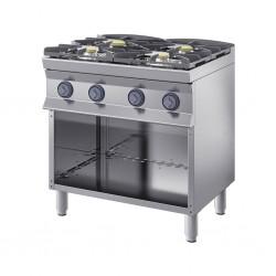 Cucina 4 fuochi a gas