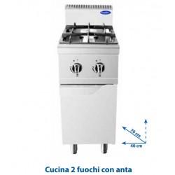 Cucina 2 fuochi TM7G2B-F-2